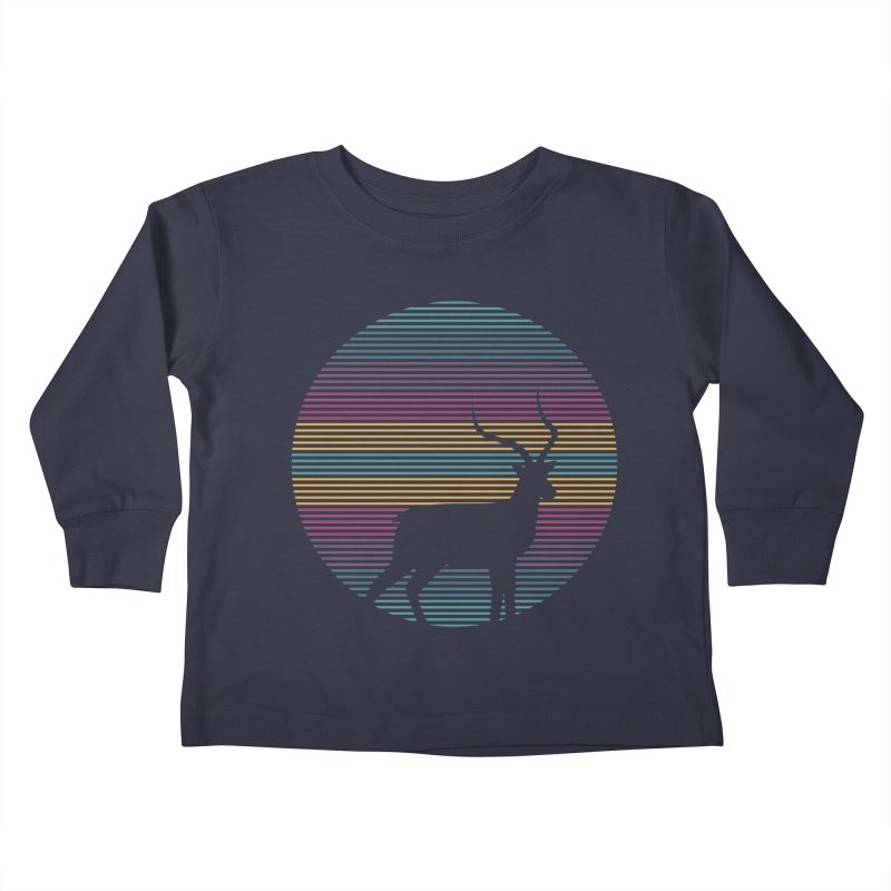 THE HAPPY IMPALA Kids Toddler Longsleeve T-Shirt by EHELPENT