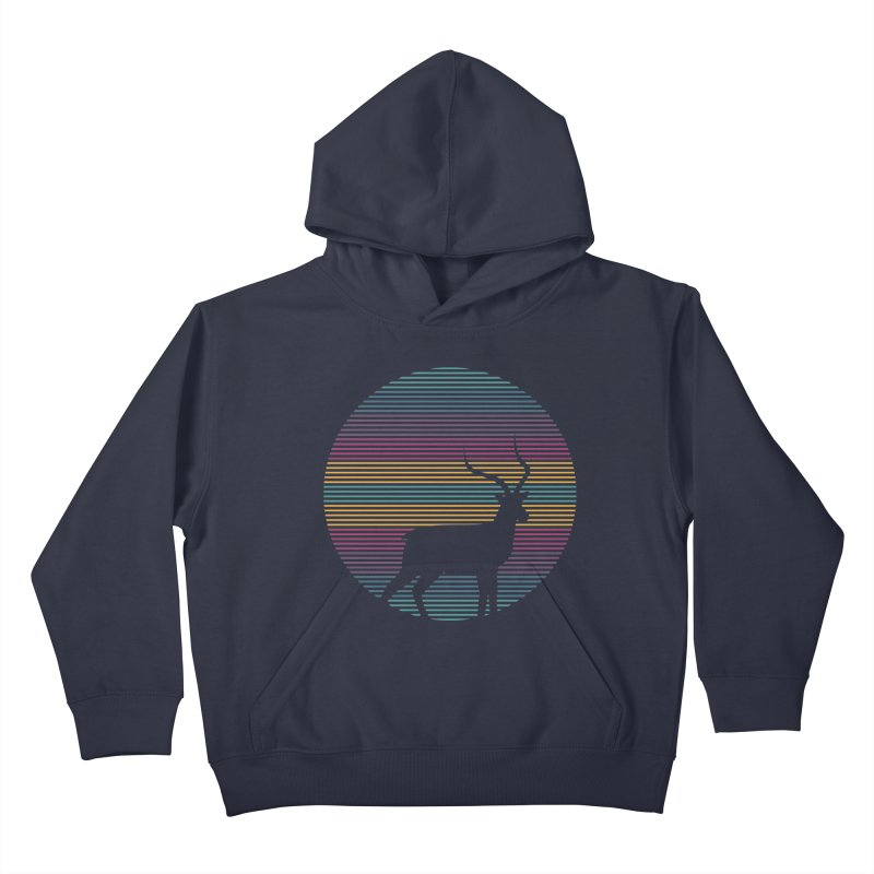 THE HAPPY IMPALA Kids Pullover Hoody by EHELPENT