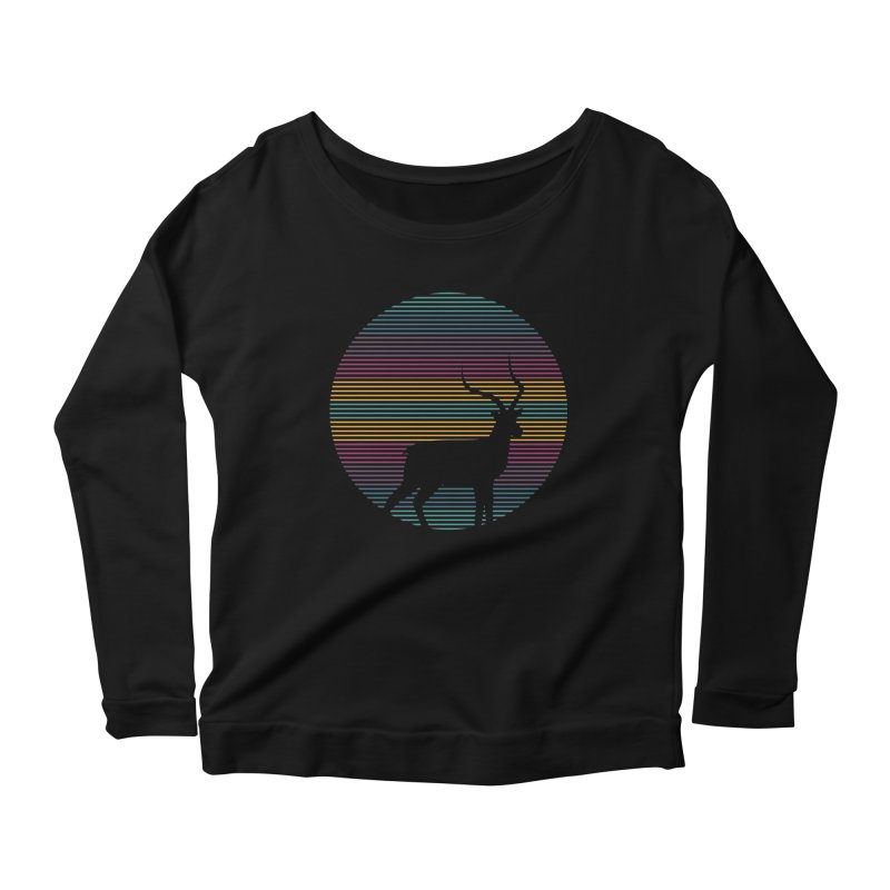 THE HAPPY IMPALA Women's Longsleeve Scoopneck  by EHELPENT