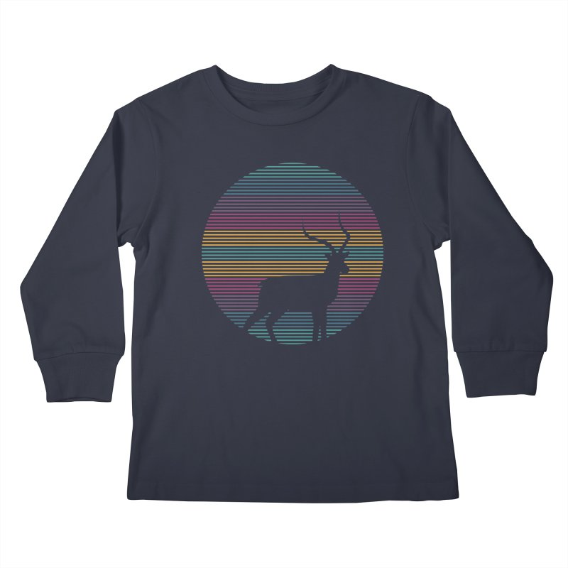 THE HAPPY IMPALA Kids Longsleeve T-Shirt by EHELPENT