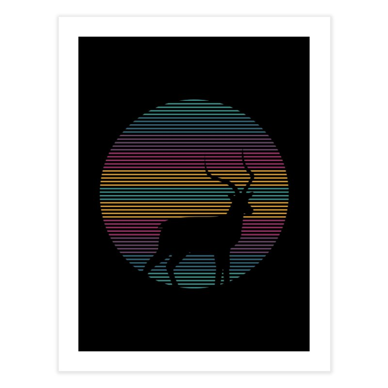THE HAPPY IMPALA Home Fine Art Print by EHELPENT