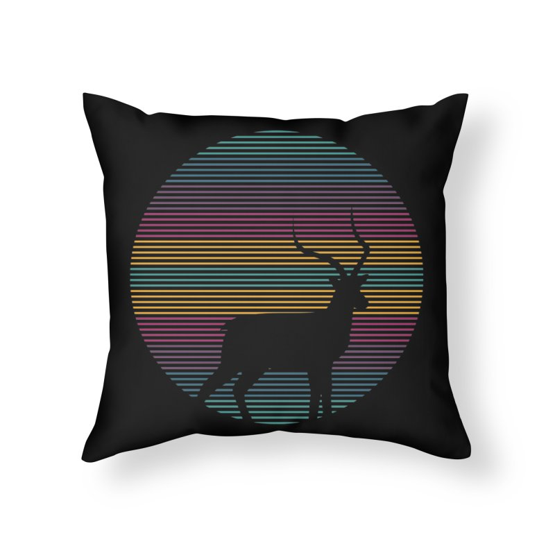 THE HAPPY IMPALA Home Throw Pillow by EHELPENT