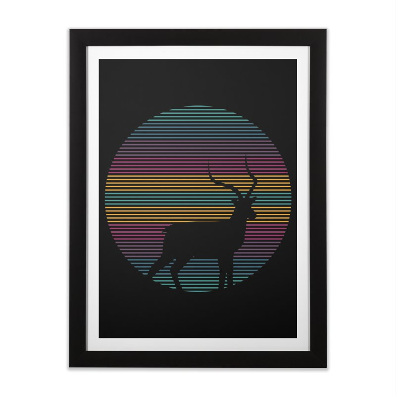 THE HAPPY IMPALA Home Framed Fine Art Print by EHELPENT