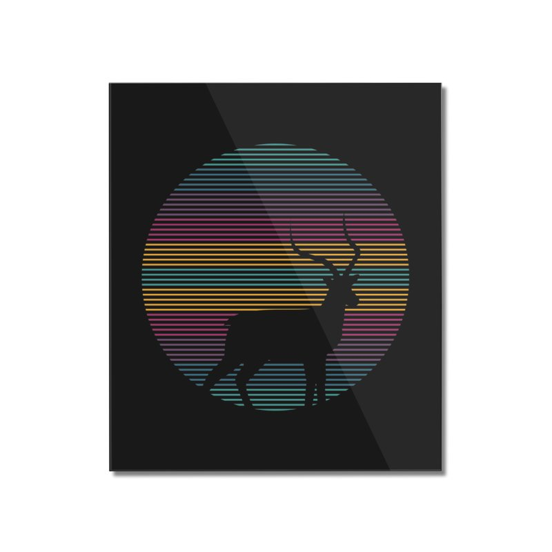 THE HAPPY IMPALA Home Mounted Acrylic Print by EHELPENT