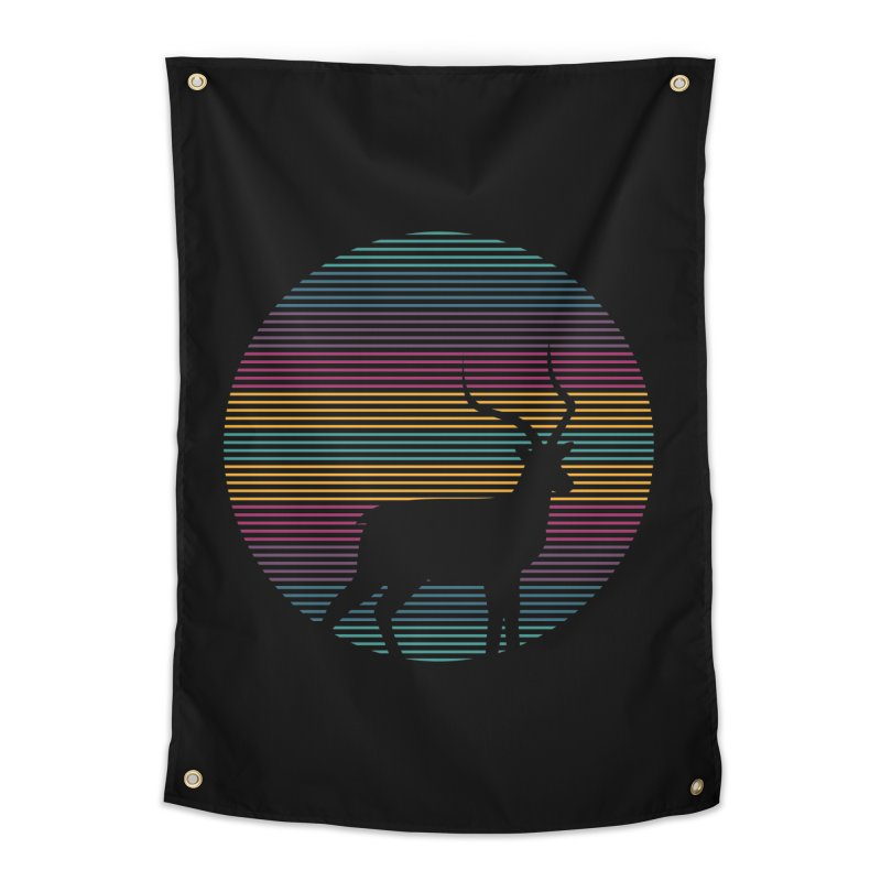 THE HAPPY IMPALA Home Tapestry by EHELPENT