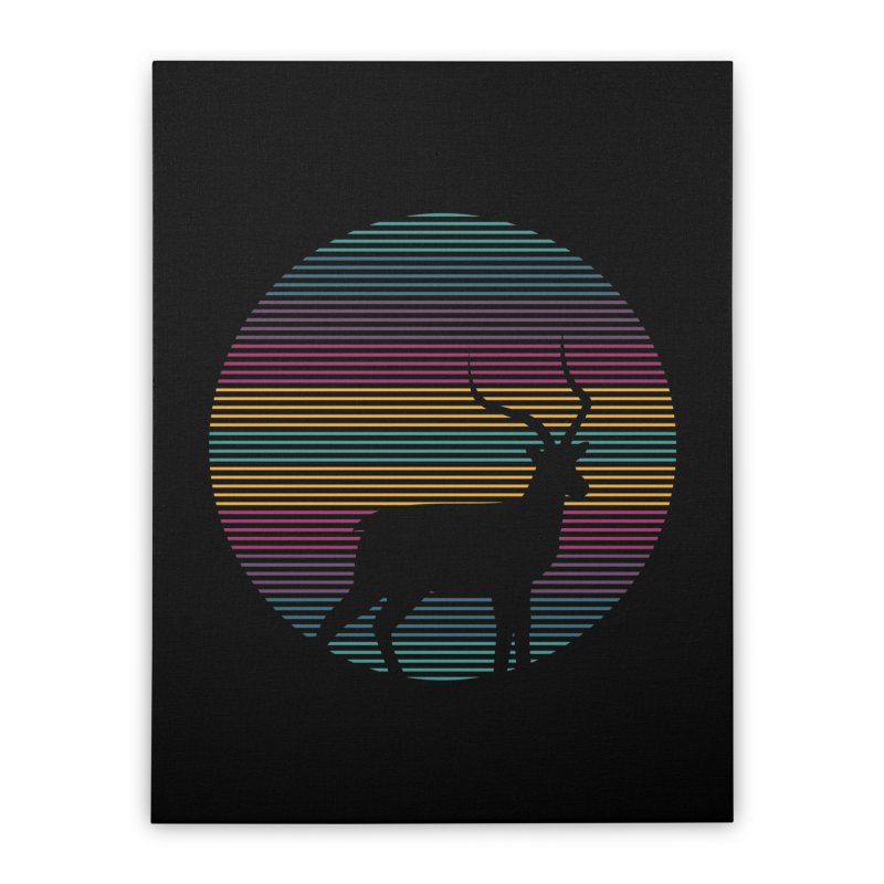 THE HAPPY IMPALA Home Stretched Canvas by EHELPENT