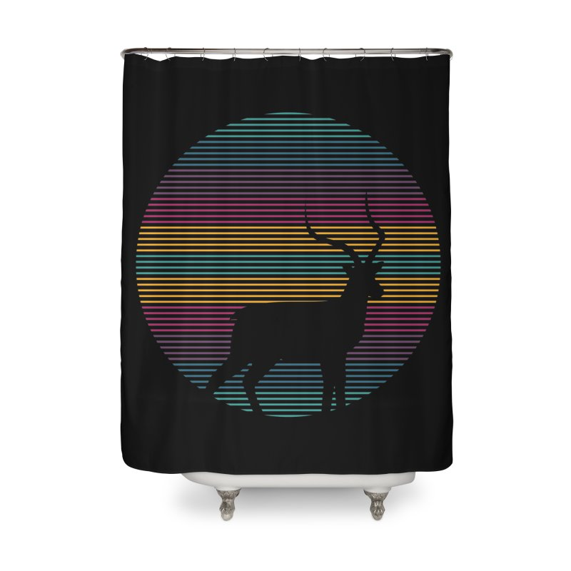 THE HAPPY IMPALA Home Shower Curtain by EHELPENT