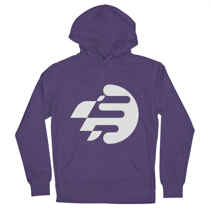 BEST RIDER in Men's French Terry Pullover Hoody Heather Purple by EHELPENT