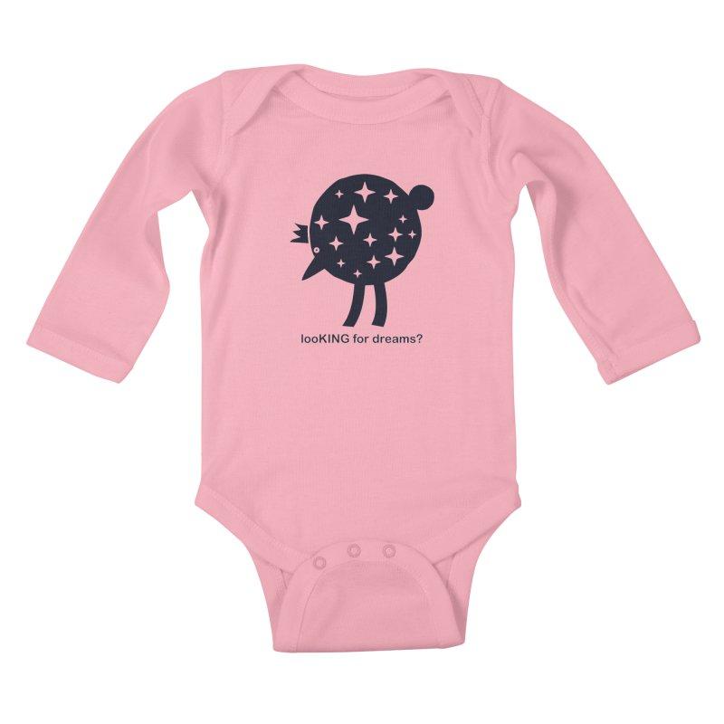 looKING for dreams? Kids Baby Longsleeve Bodysuit by EHELPENT