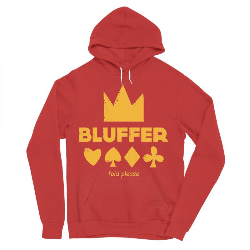 BLUFFER Men's Sponge Fleece Pullover Hoody by EHELPENT