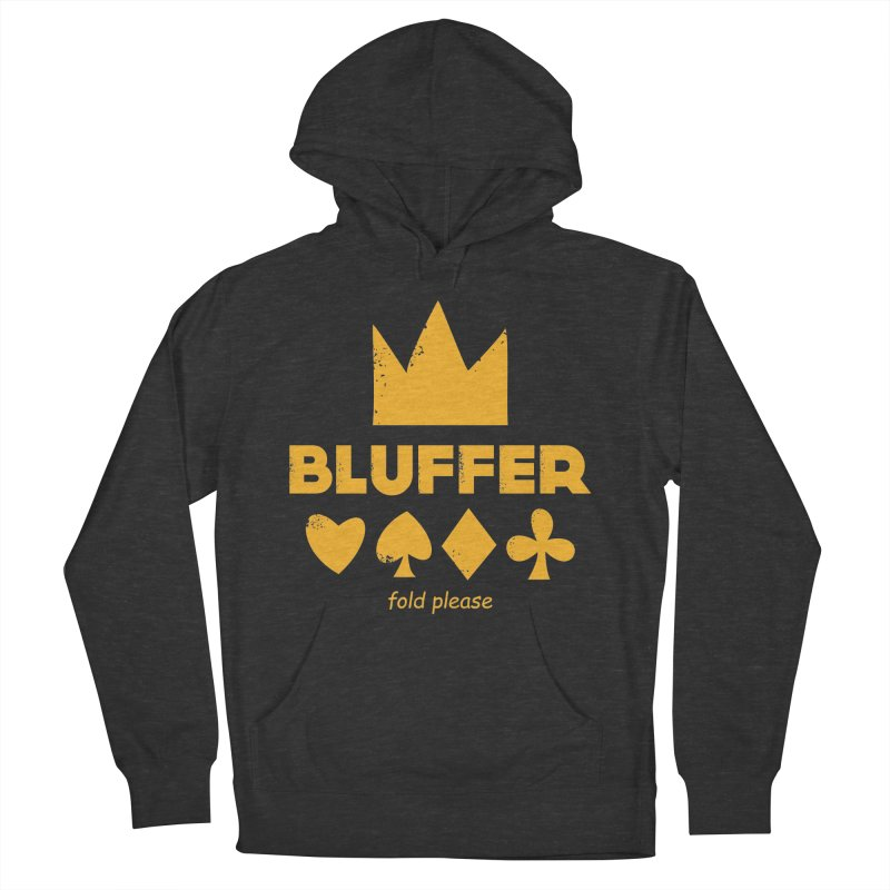 BLUFFER Women's French Terry Pullover Hoody by EHELPENT