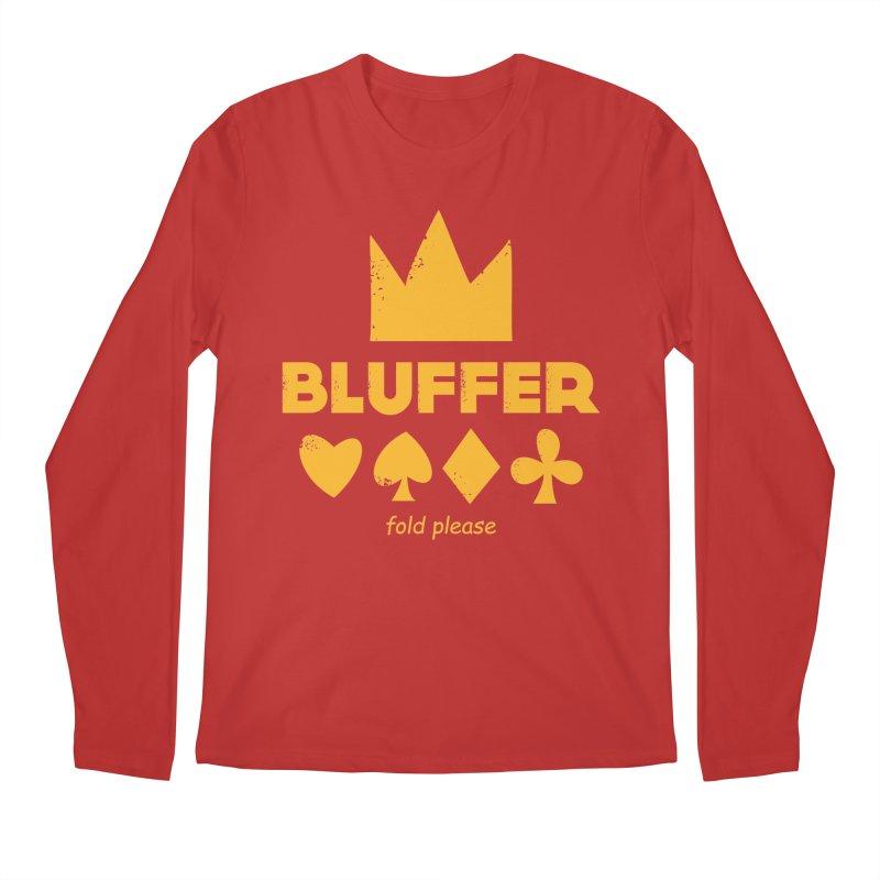 BLUFFER Men's Regular Longsleeve T-Shirt by EHELPENT
