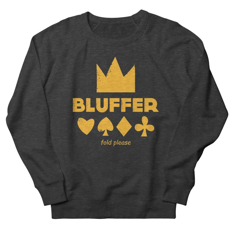 BLUFFER Men's French Terry Sweatshirt by EHELPENT