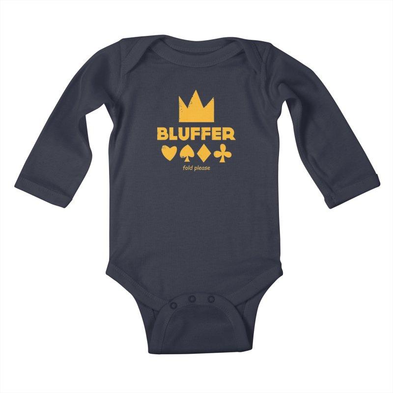 BLUFFER Kids Baby Longsleeve Bodysuit by EHELPENT