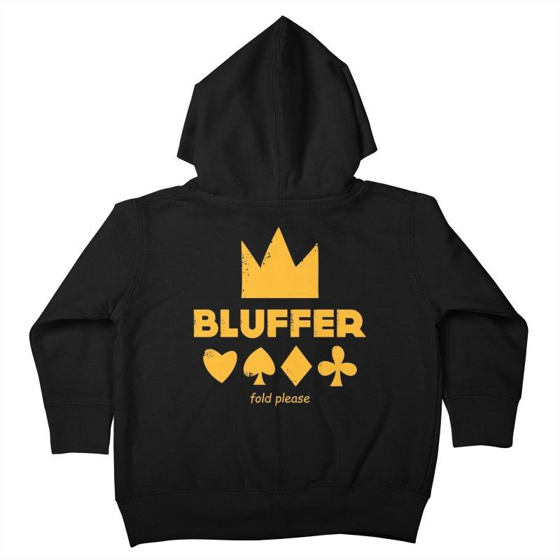 BLUFFER Kids Toddler Zip-Up Hoody by EHELPENT