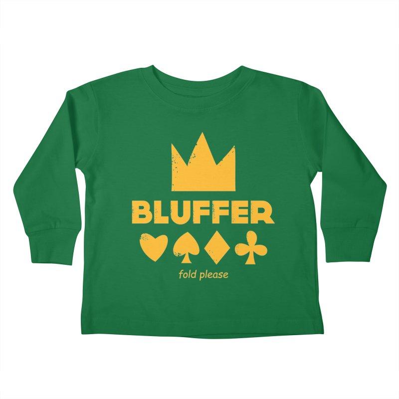 BLUFFER Kids Toddler Longsleeve T-Shirt by EHELPENT