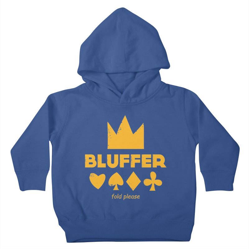 BLUFFER Kids Toddler Pullover Hoody by EHELPENT