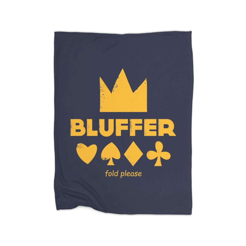 BLUFFER Home Blanket by EHELPENT