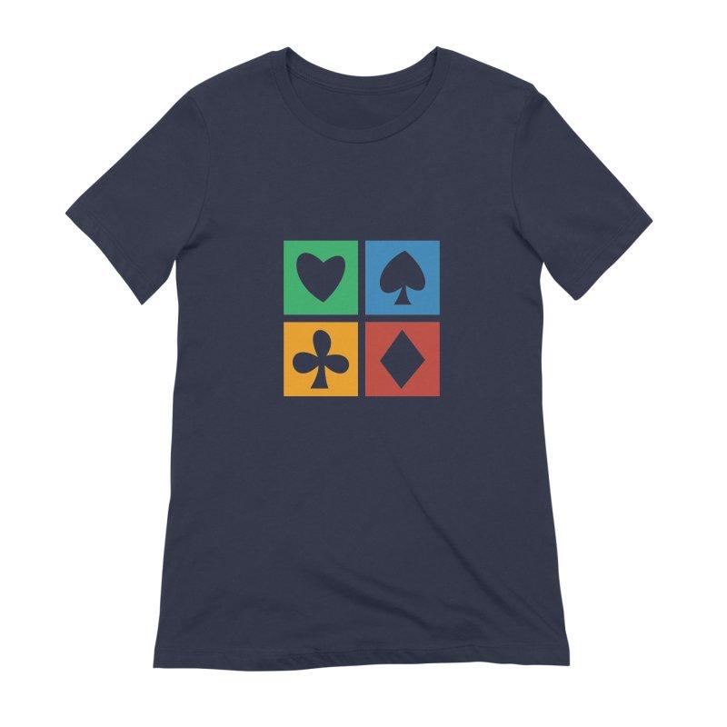 POKERHOLIC Women's Extra Soft T-Shirt by EHELPENT