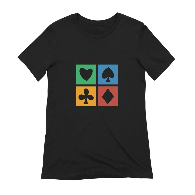POKERHOLIC Women's Extra Soft T-Shirt by EHELPENT