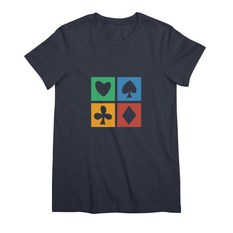 POKERHOLIC Women's Premium T-Shirt by EHELPENT