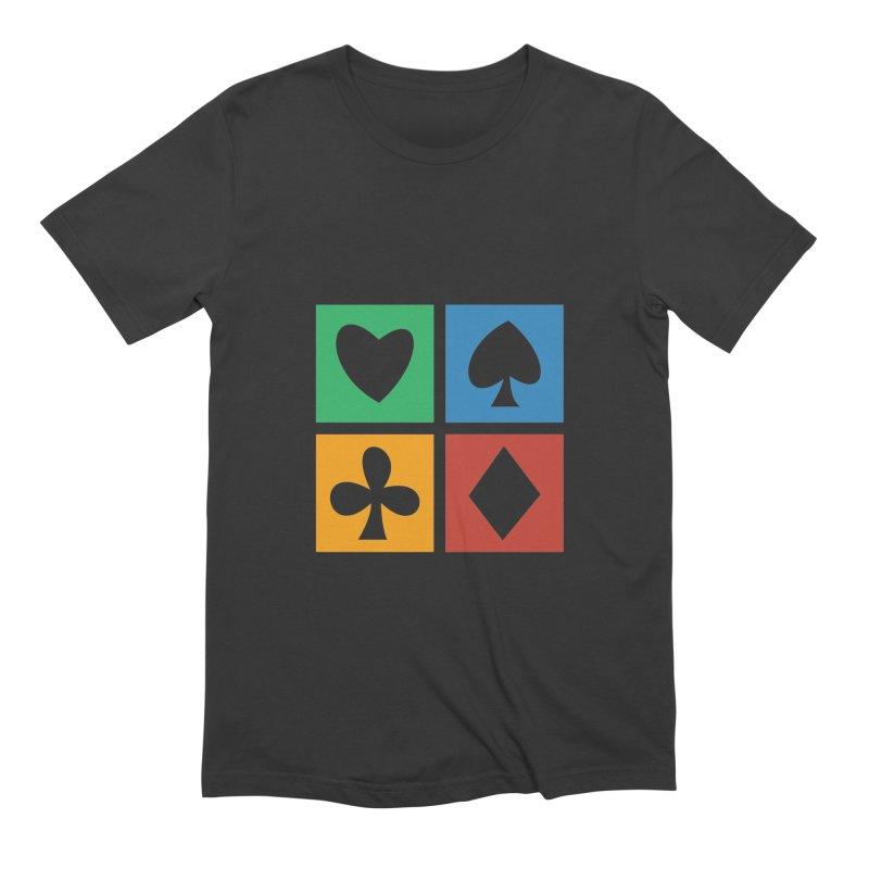 POKERHOLIC Men's Extra Soft T-Shirt by EHELPENT