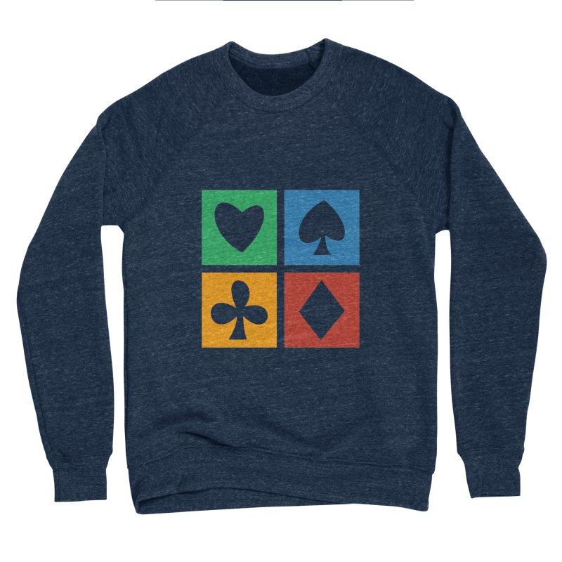 POKERHOLIC Men's Sponge Fleece Sweatshirt by EHELPENT