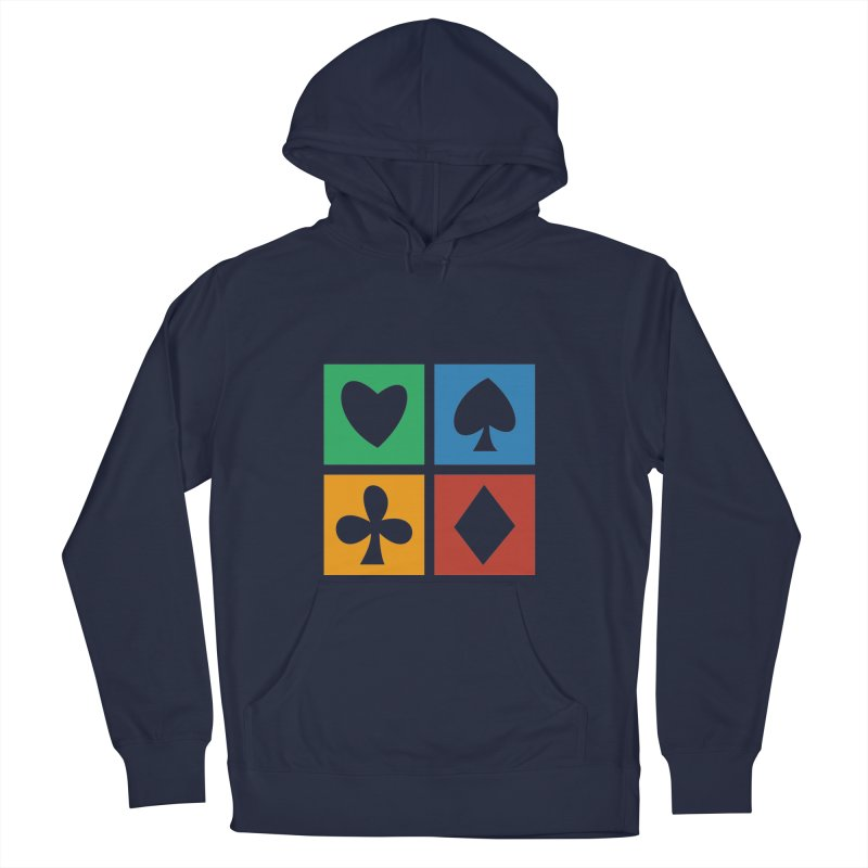 POKERHOLIC Men's French Terry Pullover Hoody by EHELPENT