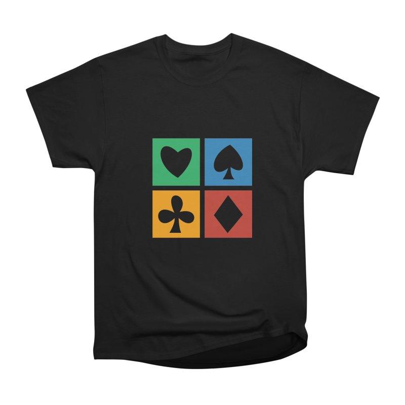POKERHOLIC Men's Heavyweight T-Shirt by EHELPENT