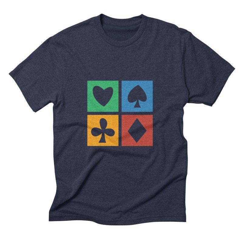 POKERHOLIC Men's Triblend T-Shirt by EHELPENT