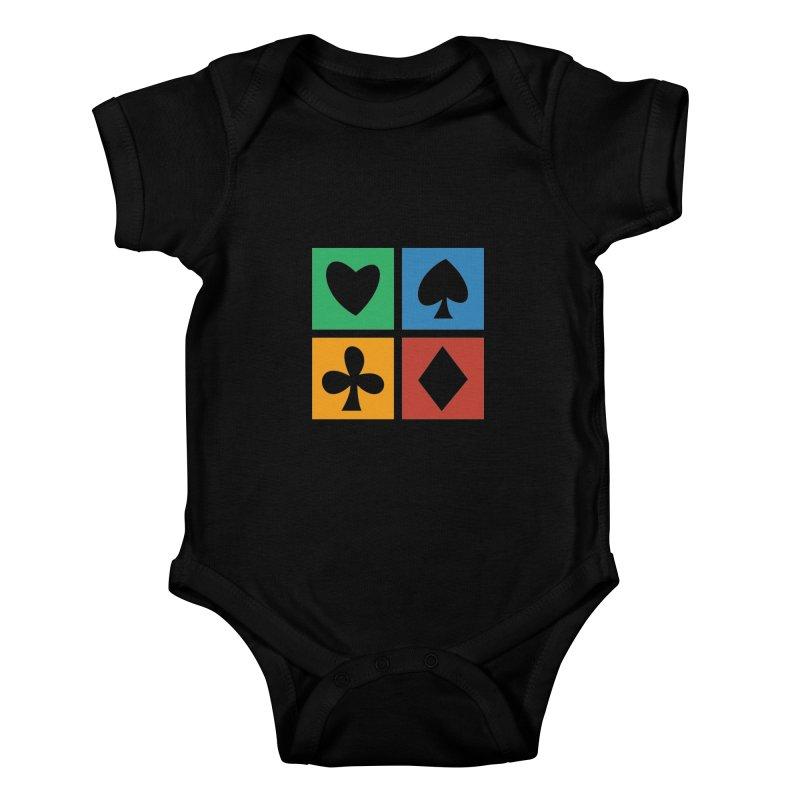 POKERHOLIC Kids Baby Bodysuit by EHELPENT