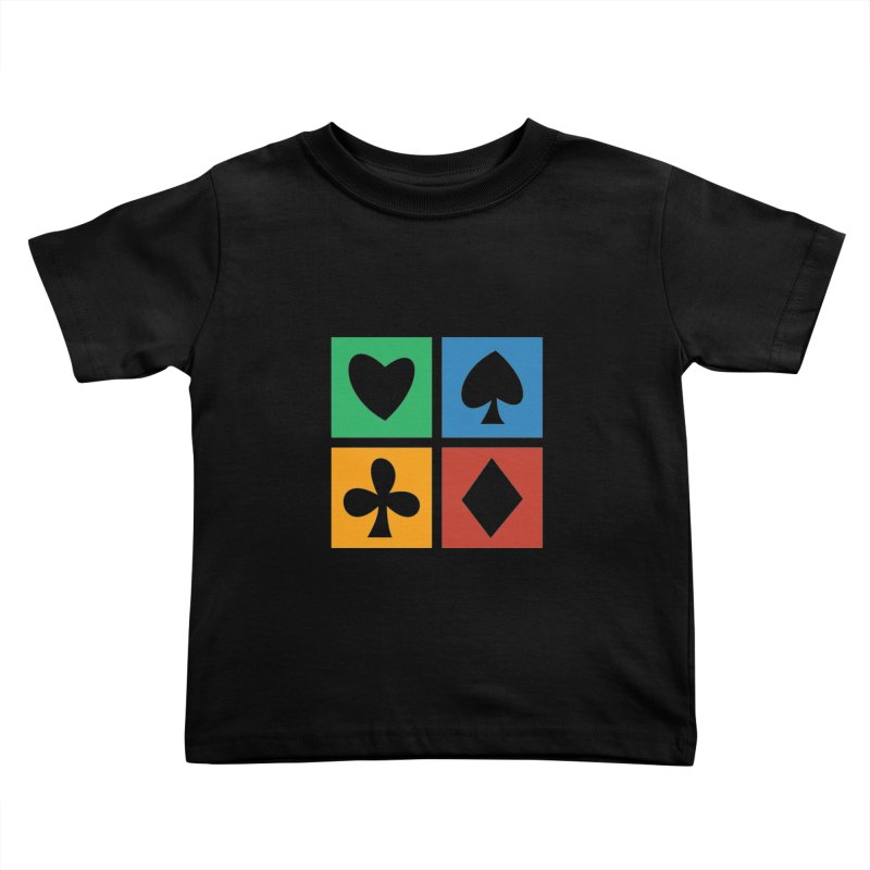 POKERHOLIC Kids Toddler T-Shirt by EHELPENT