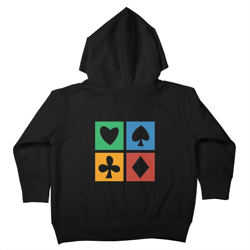 POKERHOLIC Kids Toddler Zip-Up Hoody by EHELPENT