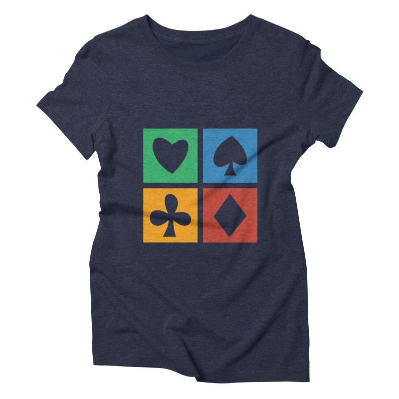 POKERHOLIC Women's Triblend T-Shirt by EHELPENT
