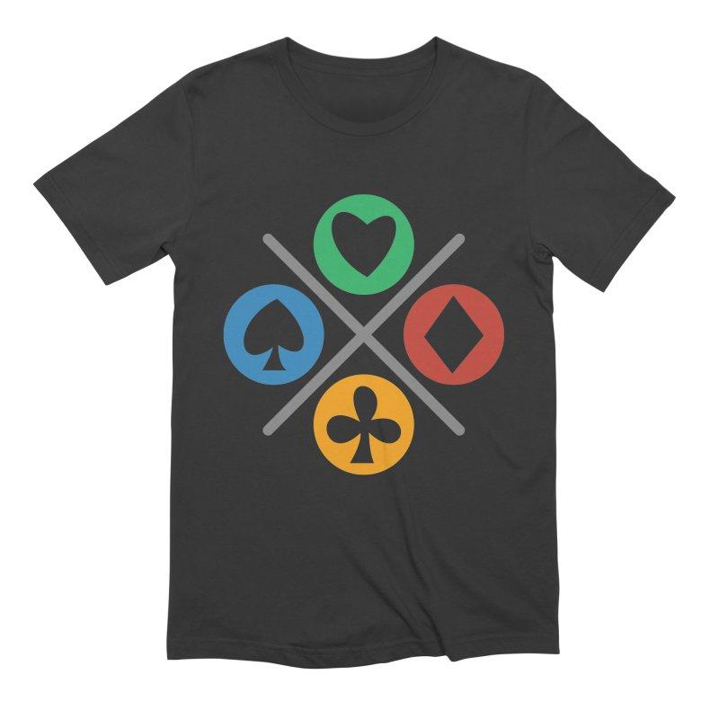 POKER JOYSTICK Men's Extra Soft T-Shirt by EHELPENT