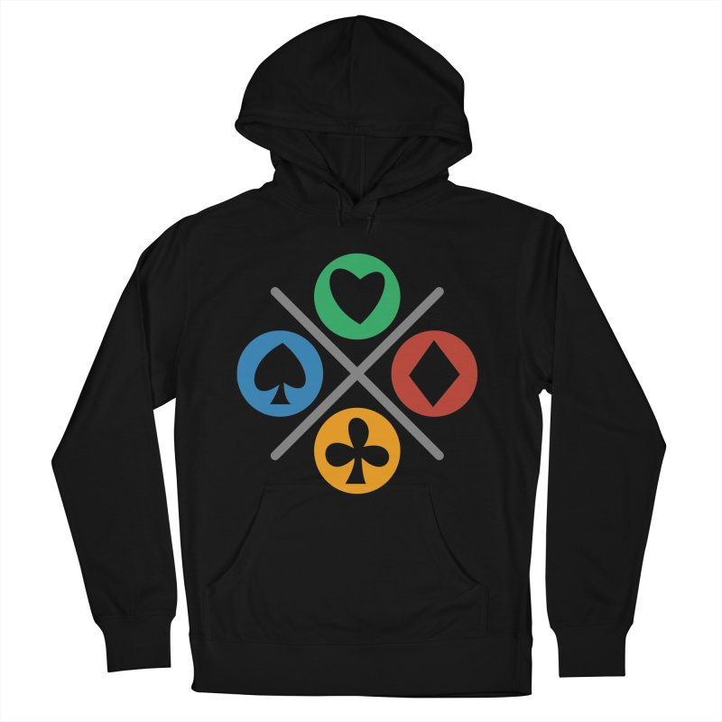 POKER JOYSTICK Women's French Terry Pullover Hoody by EHELPENT