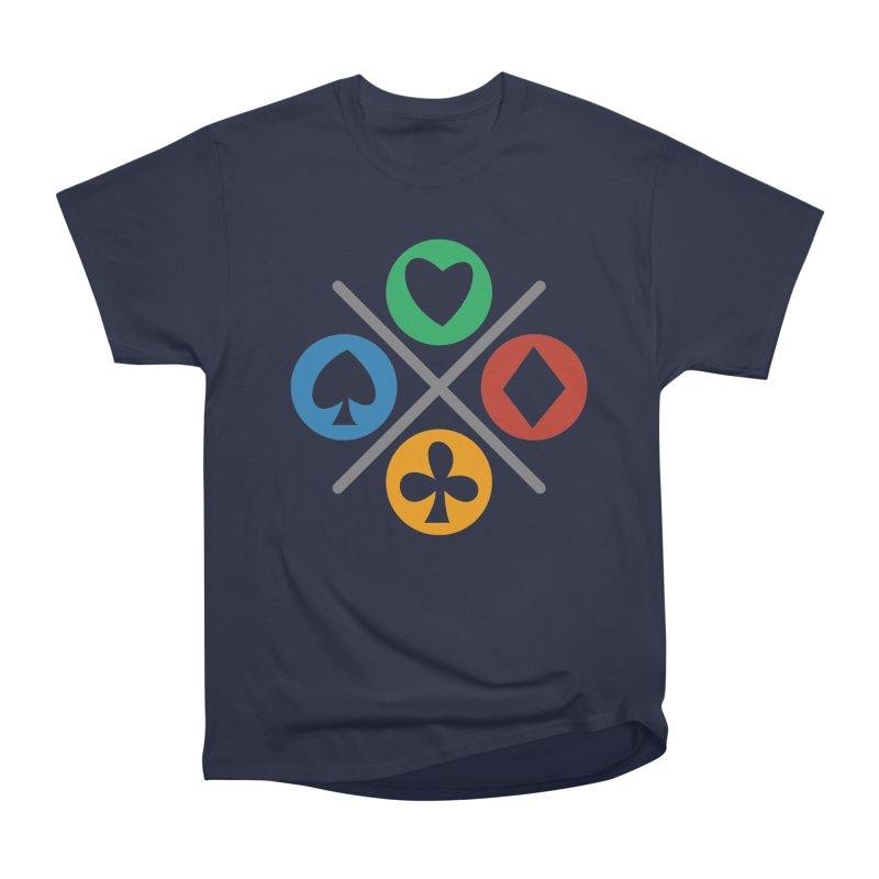 POKER JOYSTICK Men's Heavyweight T-Shirt by EHELPENT