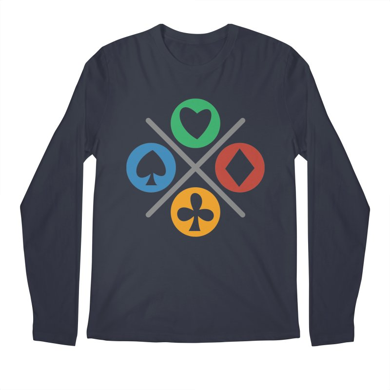 POKER JOYSTICK Men's Regular Longsleeve T-Shirt by EHELPENT