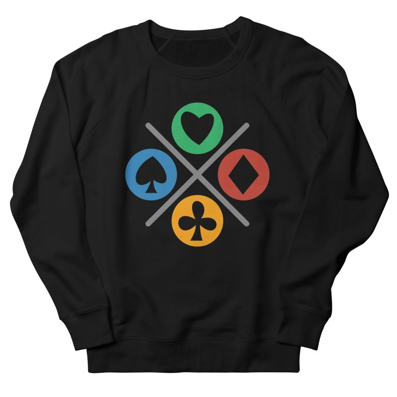 POKER JOYSTICK Women's French Terry Sweatshirt by EHELPENT
