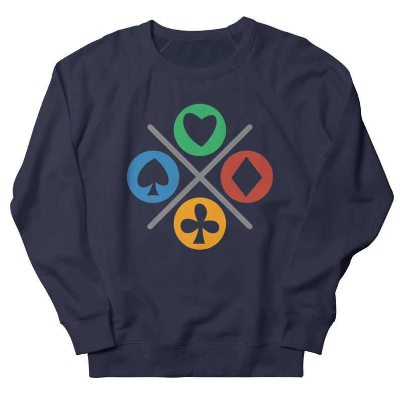 POKER JOYSTICK Women's French Terry Sweatshirt by EHELPENT