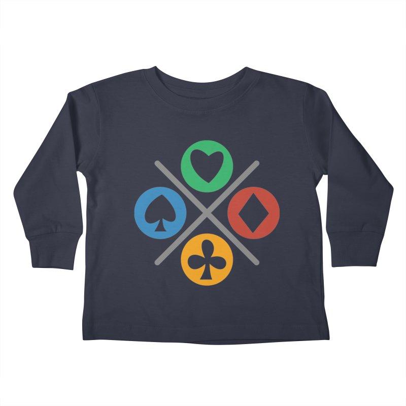 POKER JOYSTICK Kids Toddler Longsleeve T-Shirt by EHELPENT