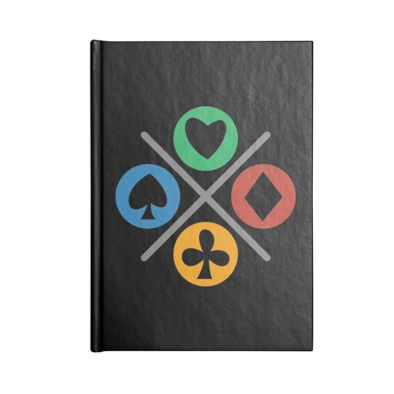 POKER JOYSTICK Accessories Notebook by EHELPENT
