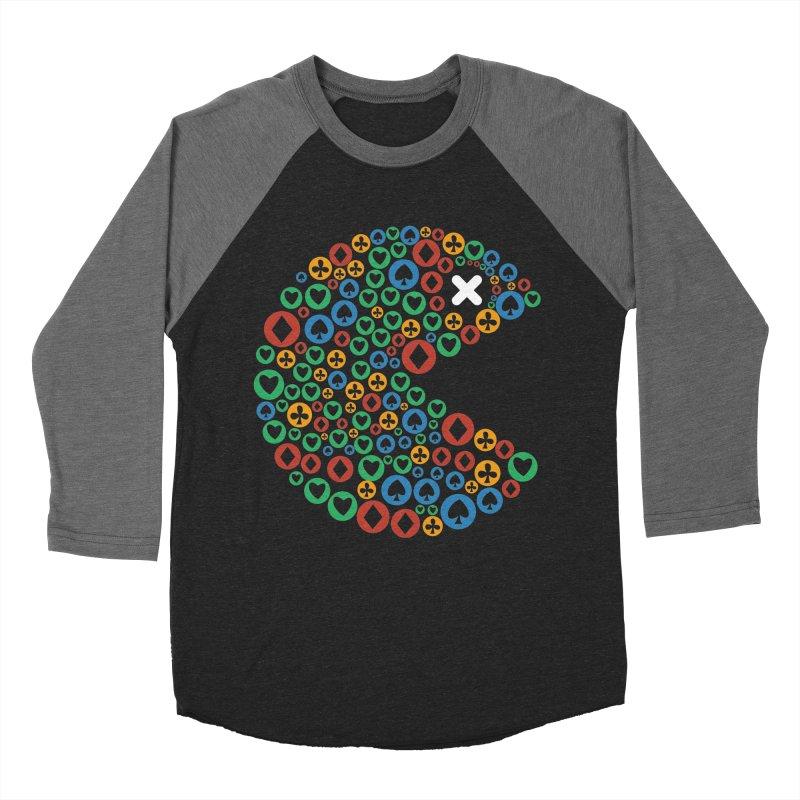 POKERMAN Men's Baseball Triblend Longsleeve T-Shirt by EHELPENT