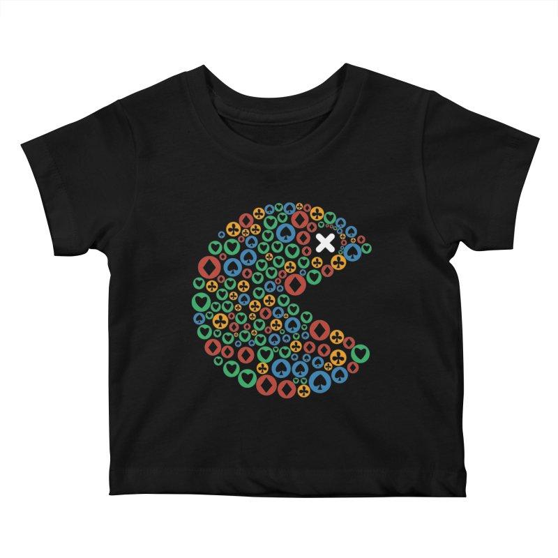 POKERMAN Kids Baby T-Shirt by EHELPENT