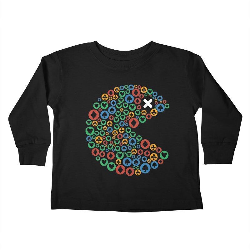 POKERMAN Kids Toddler Longsleeve T-Shirt by EHELPENT