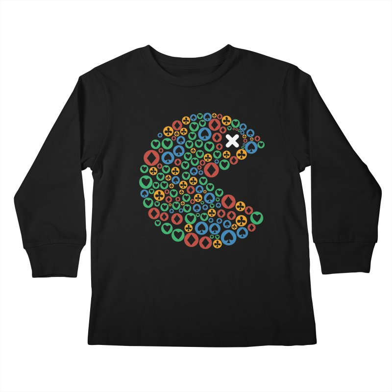 POKERMAN Kids Longsleeve T-Shirt by EHELPENT