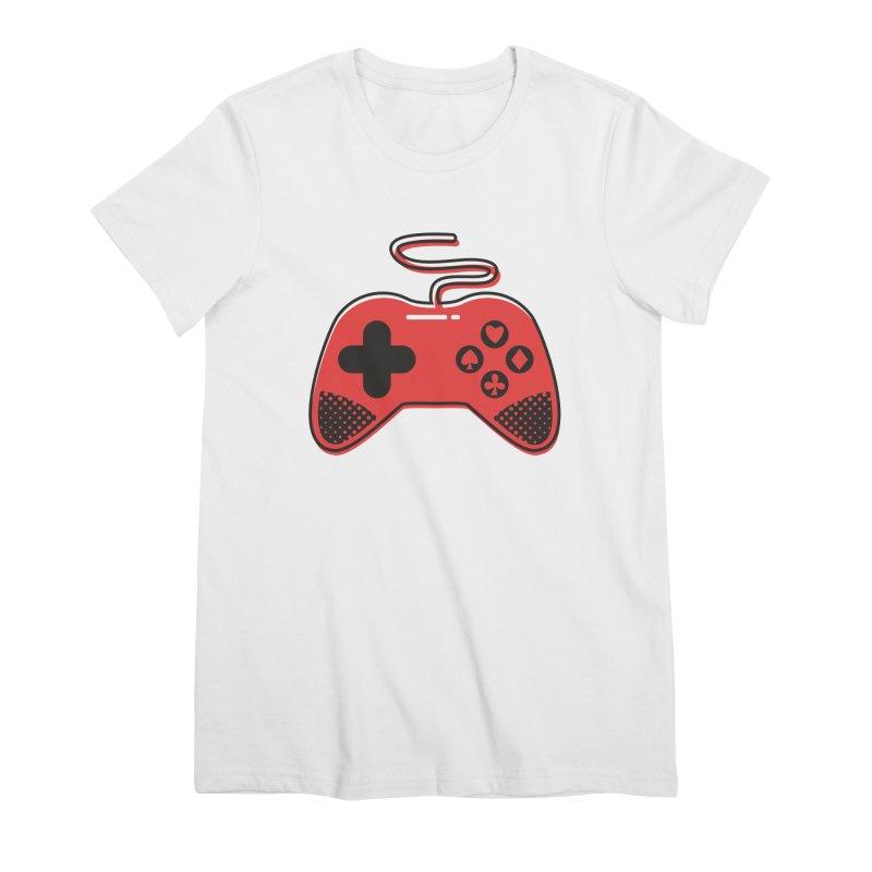 POKER CONTROLLER Women's Premium T-Shirt by EHELPENT