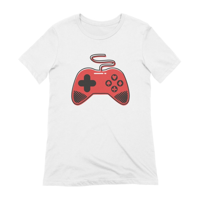 POKER CONTROLLER Women's Extra Soft T-Shirt by EHELPENT