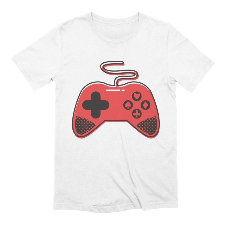 POKER CONTROLLER Men's Extra Soft T-Shirt by EHELPENT