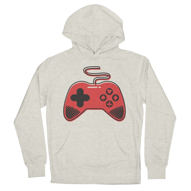 POKER CONTROLLER Women's French Terry Pullover Hoody by EHELPENT